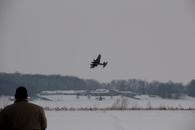 Steve W enjoying his first flight of the year